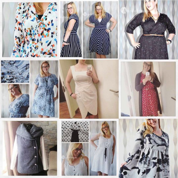 My bestnineofinstagram in 2015 I made lots of clothes andhellip